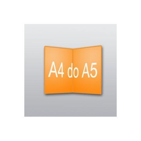 ulotki A4 do A5 -1000 szt.