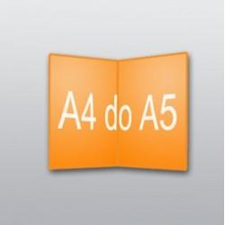 ulotki A4 do A5 -500 szt.