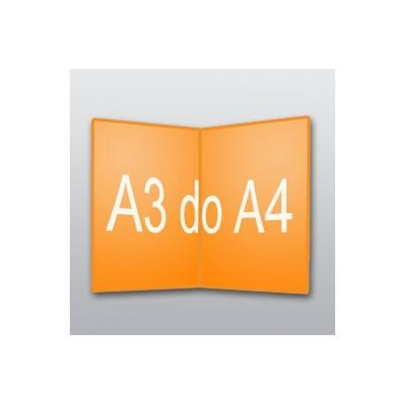 ulotki A3 do A4 -500 szt.