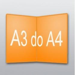 ulotki A3 do A4 -250 szt.