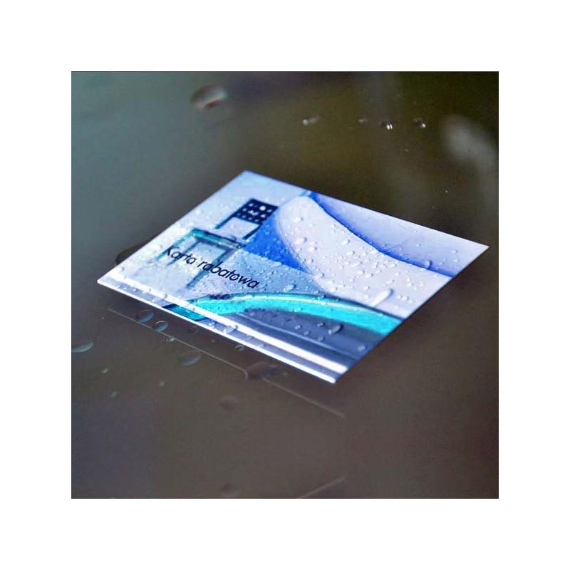 karty plastikowe pcv online