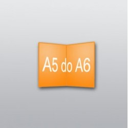 ulotki A5 do A6 -1000 szt.