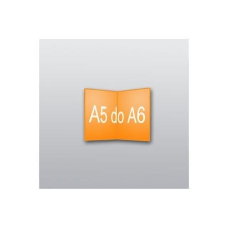 ulotki A5 do A6 -2500 szt.