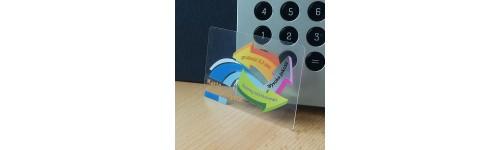 karty przezroczyste (całkowicie) -0,5mm