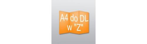 """ulotki A4 do DL w """"Z"""""""