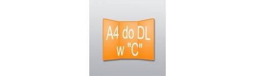"""ulotki A4 do DL w """"C"""""""