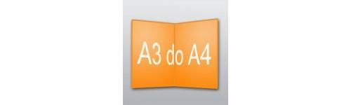 ulotki A3 do A4