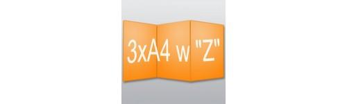 """ulotki 3xA4 w """"Z"""""""
