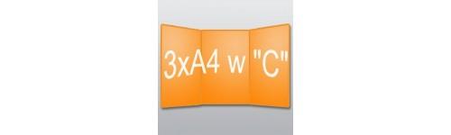 """ulotki 3xA4 w """"C"""""""